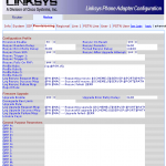 Configuration SPA3102 pour Freebox