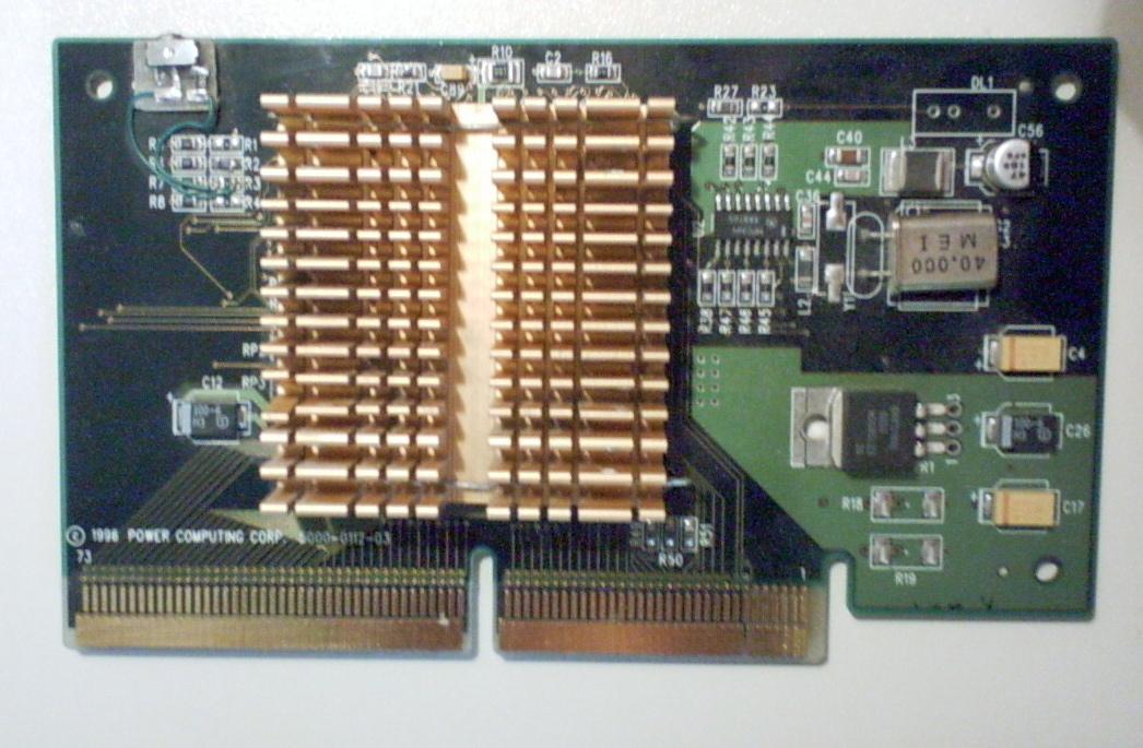 Photo carte CPU